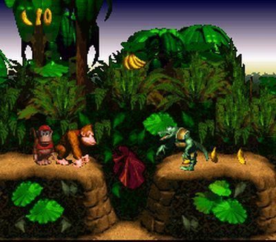 Le jeu auquel vous avez joué avec votre père. Donkey-Kong-Country-SNES1