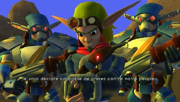 Jack and Daxter - Scène