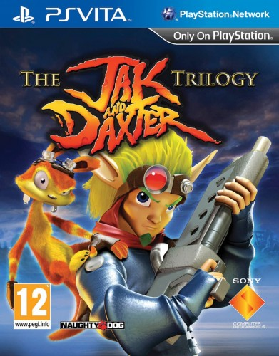 Jaquette Jak and Daxter Trilogy PS Vita