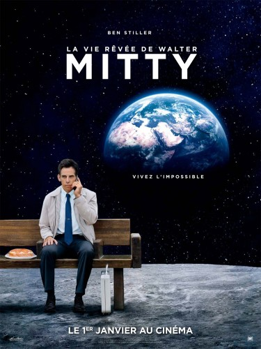 Affiche la vie rêvée de Walter Mitty