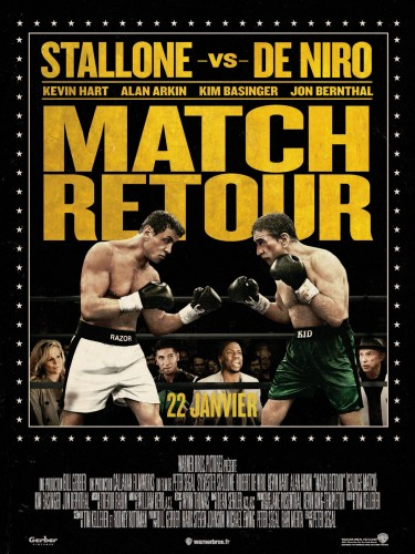Affiche Match retour De Niro Stallone