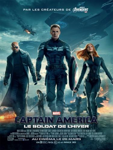 Affiche Captain America, le soldat de l'hiver