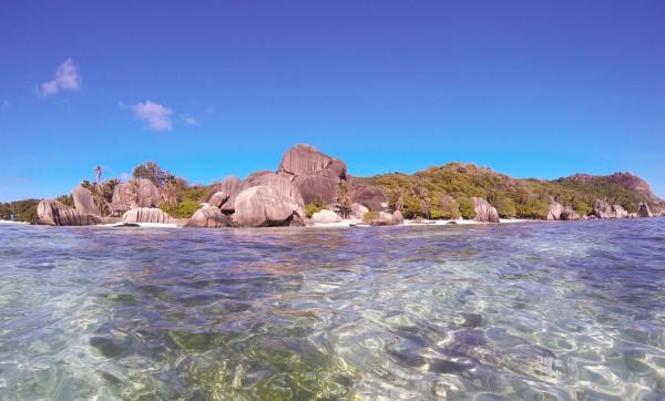 GoPro Seychelles Anse Source d'Argent La digue