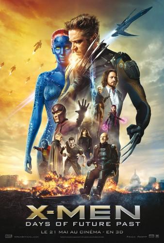 Affiche X-Men Days of Future Past