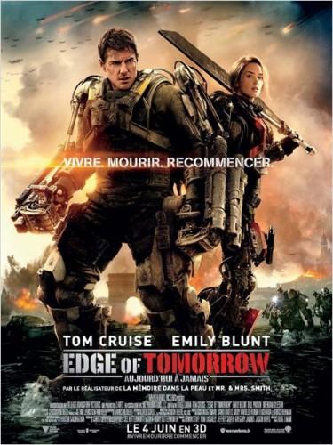 Edge Of Tomorrow  affiche