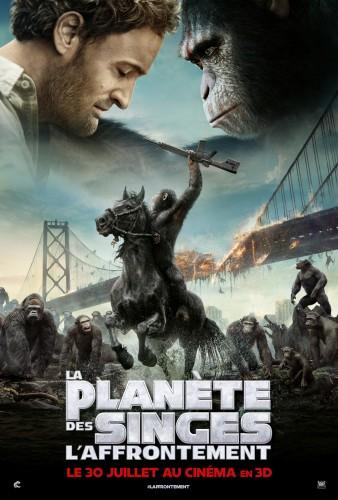 Affiche La Planète des singes  l'affrontement