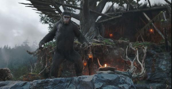 La Planète des singes  l'affrontement (4)