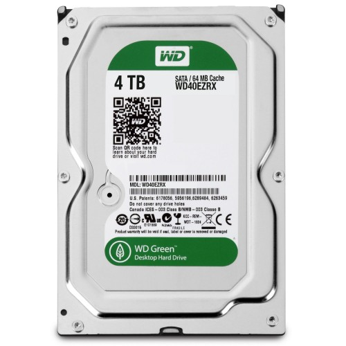 HDD WD green caviar 4To
