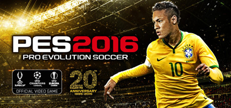 Pro Evolution Soccer 2016 header