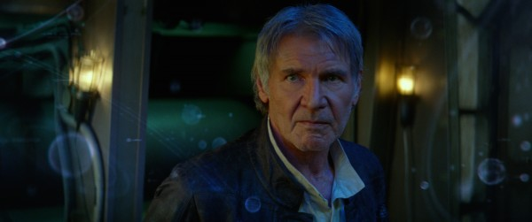 Star Wars: The Force Awakens Han Solo (Harrison Ford) Ph: Film Frame © 2014 Lucasfilm Ltd. & TM. All Right Reserved..