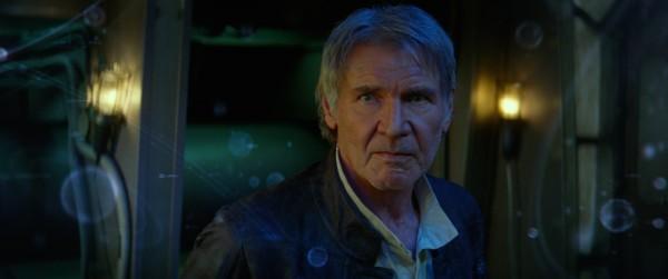 Star Wars: The Force Awakens Han Solo (Harrison Ford) Ph: Film Frame © 2014 Lucasfilm Ltd. & TM. All Right Reserved..